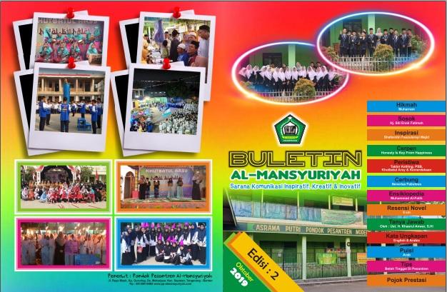 Buletin Al Mansyuriyah Edisi ke-2 Oktober 2019